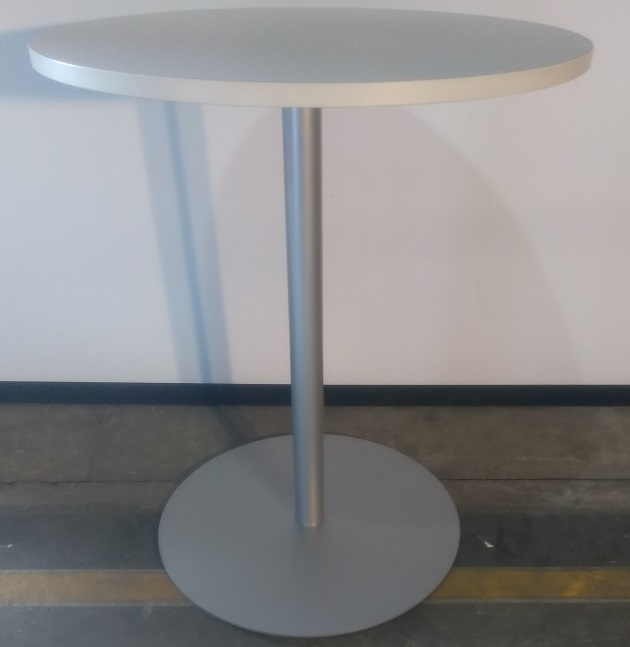 STEELCASE LAMINATE ROUND HIGH TABLE