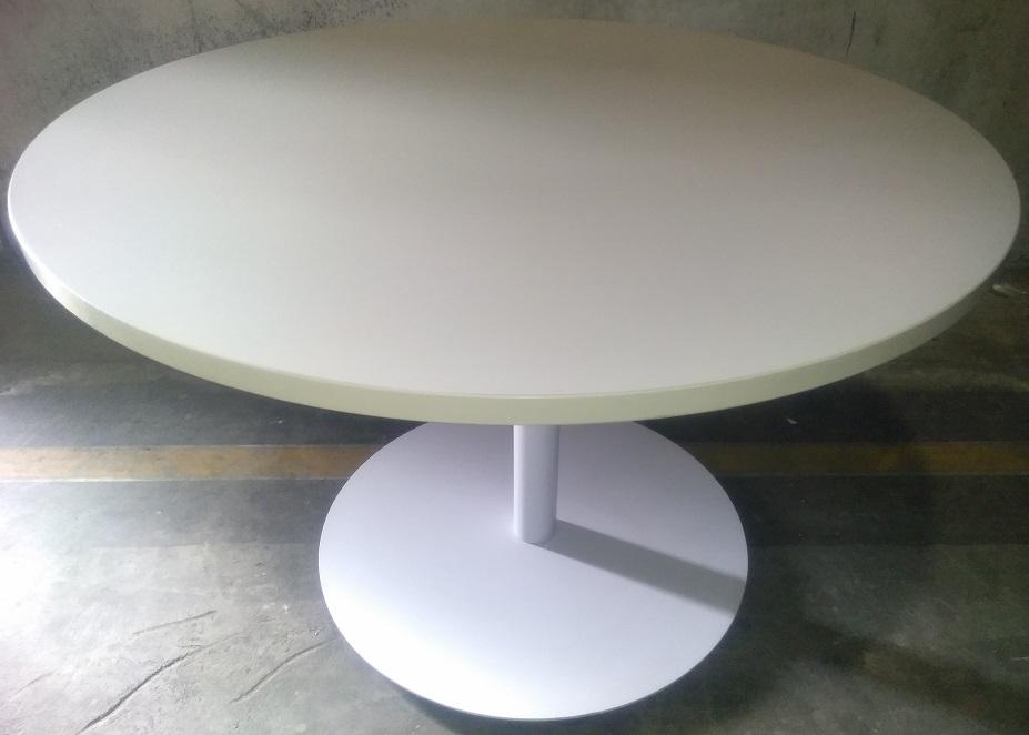 ALLSTEEL LAMINATE ROUND TABLE