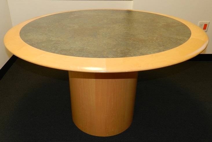 CREATIVE WOOD LAMINATE ROUND TABLE