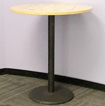 FURNITURELAB BAR-HEIGHT ROUND TABLE