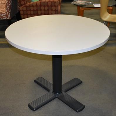 HERMAN MILLER ROUND CONFERENCE/BREAK ROOM TABLE