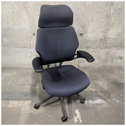 HUMANSCALE FREEDOM HIGH BACK TASK CHAIR W/ARM REST